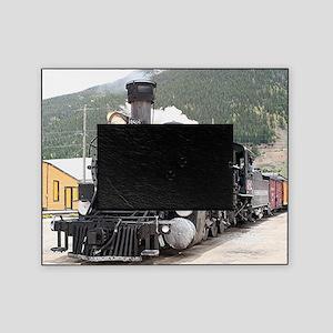 Steam train engine Silverton, Colora Picture Frame