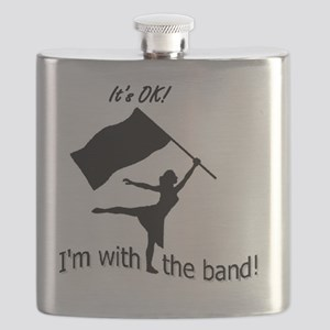 Its OK, Im with the band CG Flask