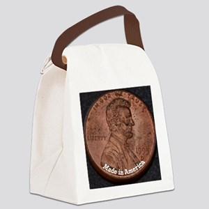 Penny Made in America Canvas Lunch Bag