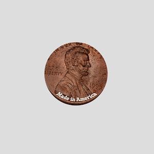 Penny Made in America Mini Button