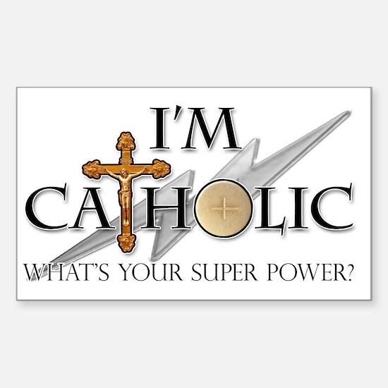 Catholic Sticker (Rectangle)