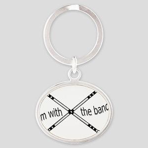 Im with the band, Twirler Oval Keychain
