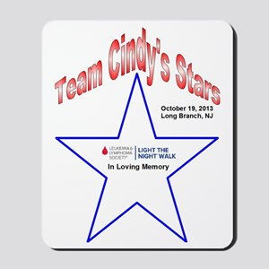 Team  Cindy's Stars LTN Tee Mousepad