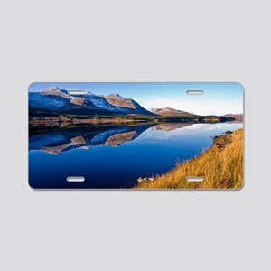 Lough Inagh Valley, Ireland Aluminum License Plate