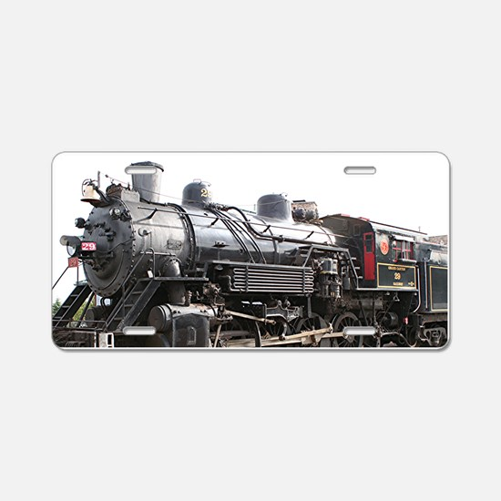 Grand Canyon Railway, Willi Aluminum License Plate