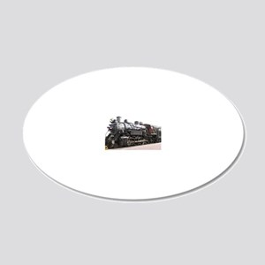 Grand Canyon Railway, Willia 20x12 Oval Wall Decal