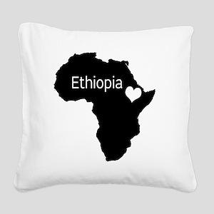 eth Square Canvas Pillow
