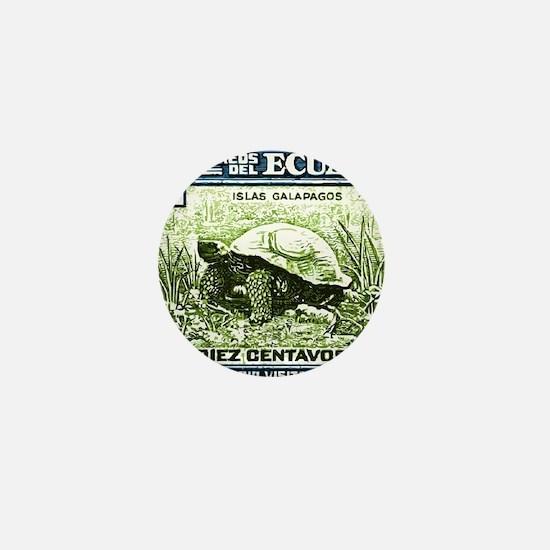 1936 Ecuador Galapagos Tortoise Postag Mini Button