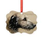 Wolfhoundportrait Ornament