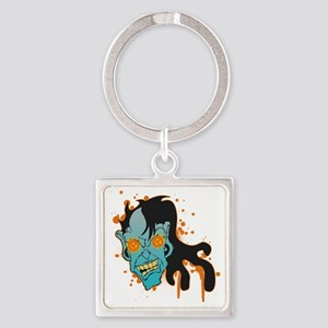 FACEOFF Square Keychain