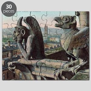 Gargoyles of Notre Dame Puzzle