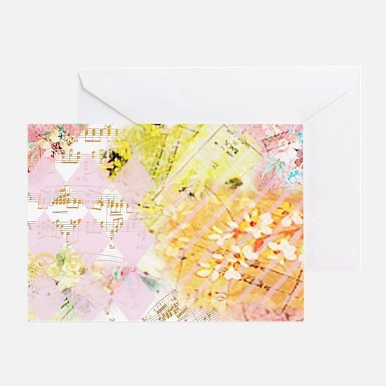 Chopin Florals Janelle Nichol Greeting Card