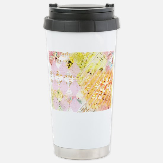 Chopin Florals Janelle  Stainless Steel Travel Mug