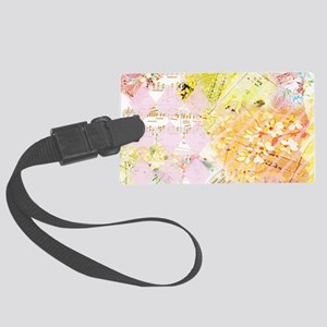 Chopin Florals Janelle Nichol Large Luggage Tag