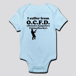 Obsessive Compulsive Fishing Disorder Body Suit