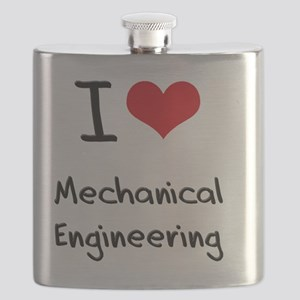 I Love MECHANICAL ENGINEERING Flask