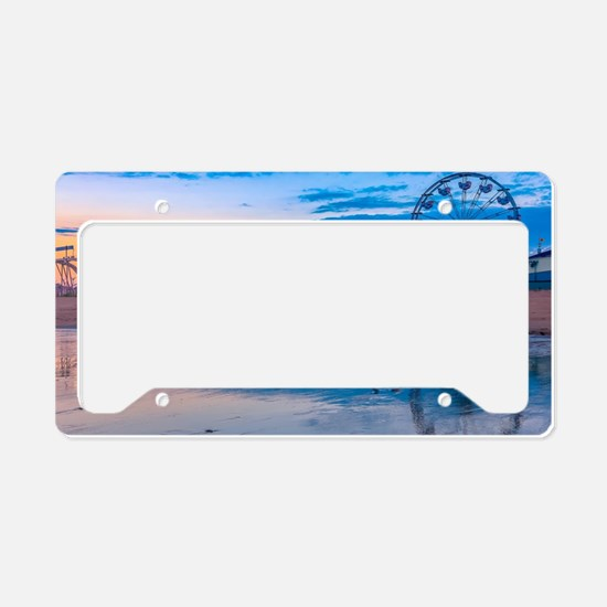 Cute Amusement parks License Plate Holder