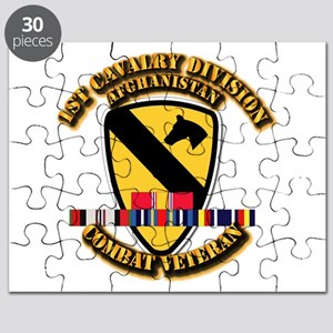 Army - 1st Cav Div w Afghan Svc Puzzle