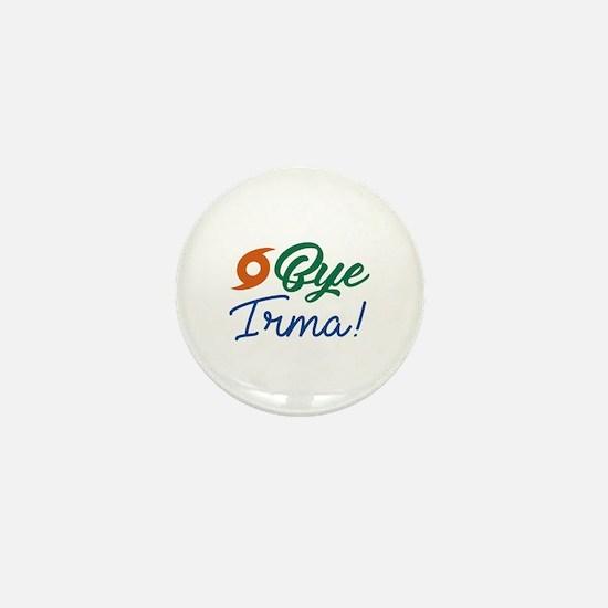 Bye Irma Mini Button