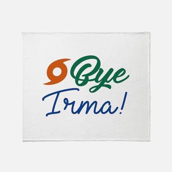 Bye Irma Stadium Blanket