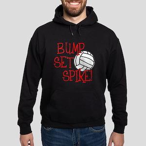 Bump, Set, Spike Hoodie (dark)
