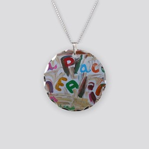 a place healin' Necklace Circle Charm