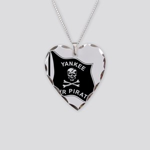 Yankee Air Pirate. Necklace Heart Charm