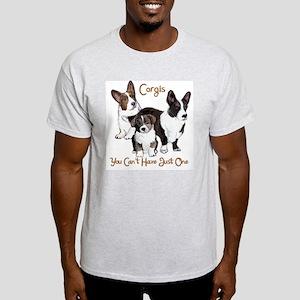 Cardigan corgi family Light T-Shirt