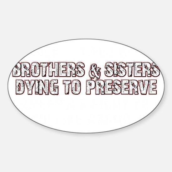 americasrights Sticker (Oval)