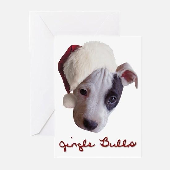 Jingle Bulls Greeting Cards