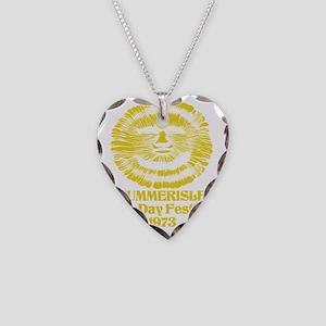 wickerman Necklace Heart Charm