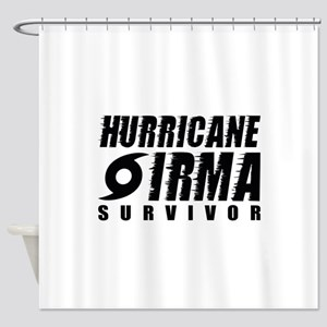 Hurricane Irma Survivor Shower Curtain