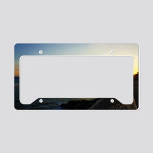 West Cliff Sun Set License Plate Holder