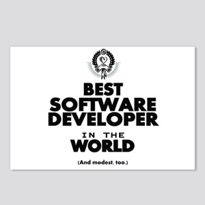 The Best in the World Software Developer Postcards