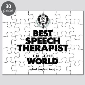 The Best in the World Speech Therapist Puzzle