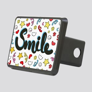 Smile Happy Face Heart Star Hitch Cover