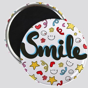 Smile Happy Face Heart Star Magnets