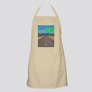 Welcome To The Family Greeting Card Apron
