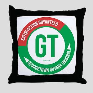Satisfaction Guayanteed Throw Pillow