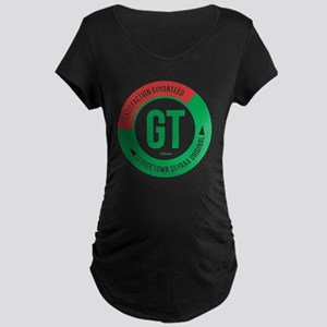 Satisfaction Guayanteed Maternity Dark T-Shirt