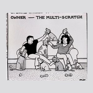 Multiscratch Throw Blanket