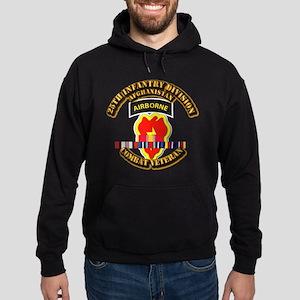 Army - 25th ID w Afghan Svc Hoodie (dark)
