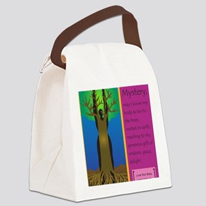 O Great Mystery Canvas Lunch Bag