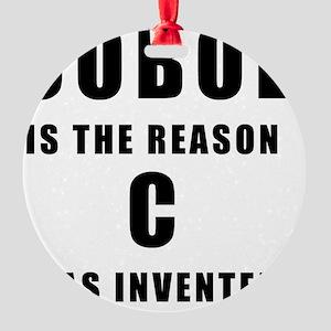 COBOL Vs C Round Ornament