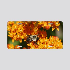 bumble one Aluminum License Plate