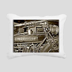 The Indian Rectangular Canvas Pillow