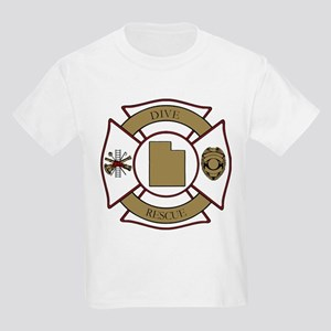 Utah Dive Rescue Kids Light T-Shirt
