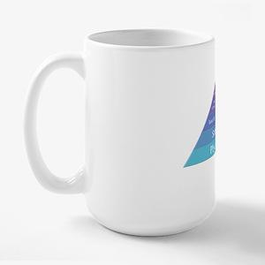 Maslows Hierarchy Large Mug