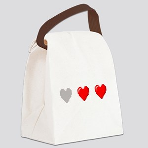 Video Game Life Canvas Lunch Bag