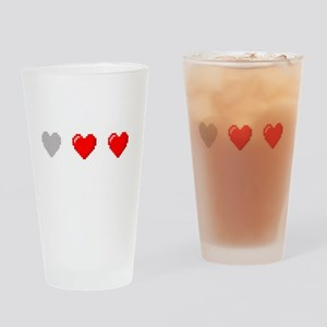 Video Game Life Drinking Glass